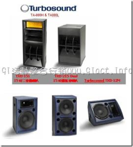 """【器材介紹】英國知名音響品牌Turbosound""""特寶聲""""音響設備"""